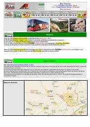 Bus Tres S.A. Historial Notas / Noticias - Empresas Autobuses Líneas