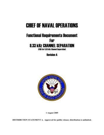 Chief of Naval Operations - NAVAIR - U.S. Navy