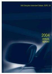 2004-12 Relatório e Contas Total - Inglês - SAG