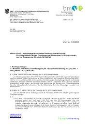 Ausnahmegenehmigungen hinsichtlich der Richtlinie 2006/40/EG ...
