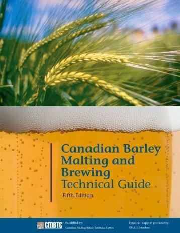 MALTING QUALITY TRAITS - Canadian Malting Barley Technical ...