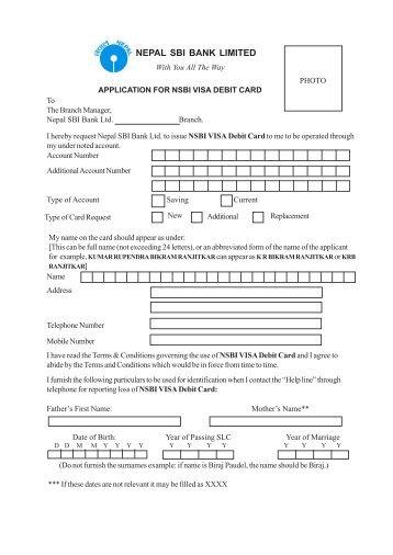 Ubl wiz internet prepaid visa atm debit card application form atmdebit card cum bharat yatra card application form thecheapjerseys Gallery