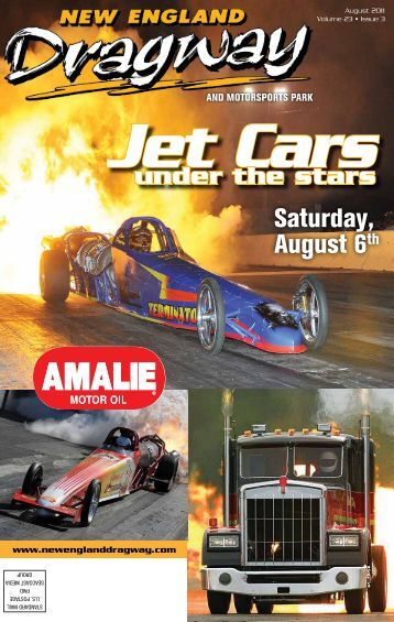 Jet Cars - New England Dragway