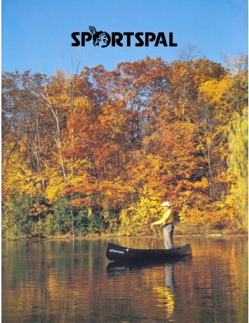 Sportspal Canoe Brochure - CastleCraft