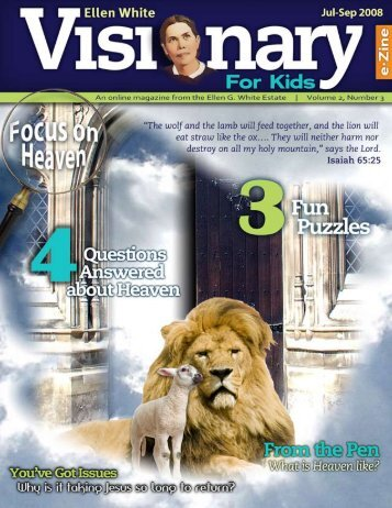 Ellen White Visionary for Kids | 1