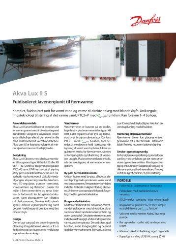Akva Lux II S - Danfoss Redan A/S