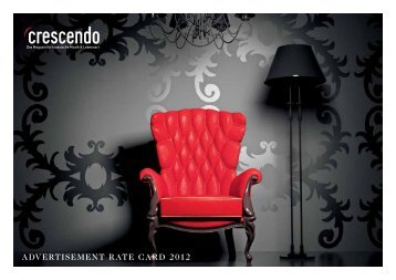 aDVerTiSing raTeS for eVenT - Crescendo