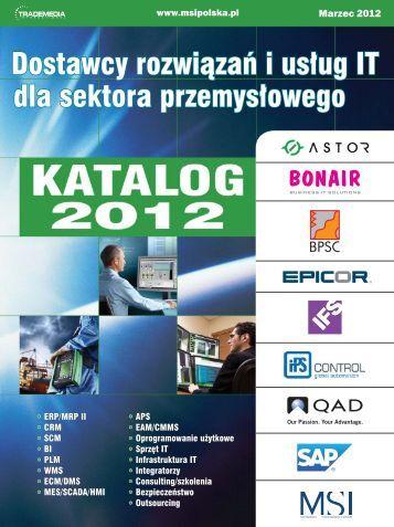 Pobierz Katalog w pliku PDF - MSI Polska
