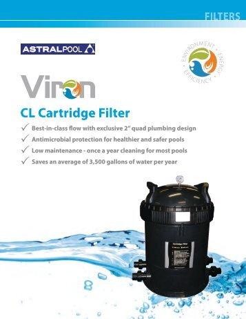 APV-103 Viron CL Cartridge Filter.pdf - Astral Pool USA