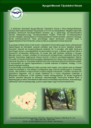 Nyugat-Mecsek Tájvédelmi Körzet - Duna-Dráva Nemzeti Park