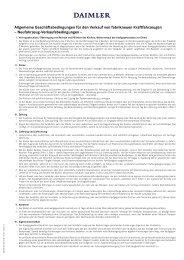 Neufahrzeug-Verkaufsbedingungen - Schmolck