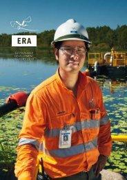 ERA Sustainable Development Report  2010 - Energy Resources of ...