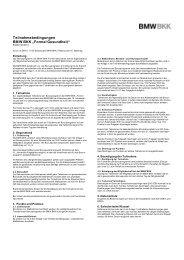 Teilnahmebedingungen Bonusprogramm 2013.pdf - BMW BKK