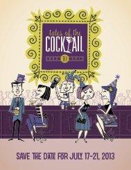 TOTC2012-Recap-FINAL.. - Tales of the Cocktail