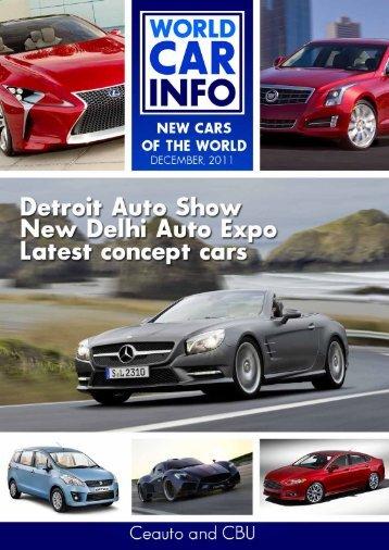World car info dec 2011