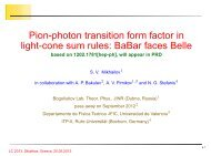 Pion-photon transition form factor in light-cone sum rules: BaBar ...