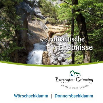 Donnersbachklamm - Das Oberst Pommer Haus