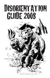 NYU Disorientation Guide 2008 - Campus Activism