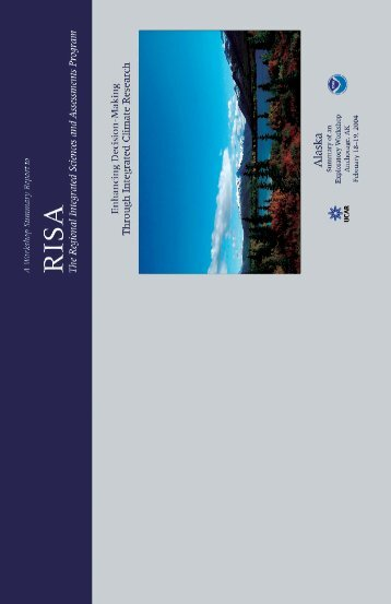 Enhanced Decision-Making Through Integrated Climate Research