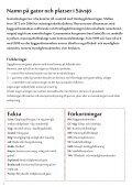 Namn på gator och platser i - Sävsjö kommun - Page 2