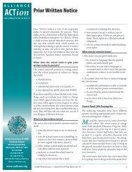ALL-43, Prior Written Notice.indd - Parent Center Network
