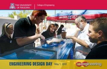 engineering design day 2012 - College of Engineering @ The ...