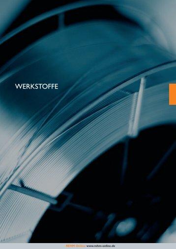 WERKSTOFFE - Rehm