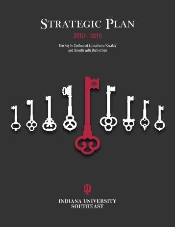 IUS Strategic Plan - Indiana University Southeast