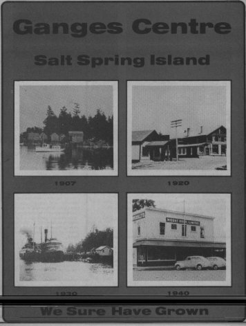 Ganges - Salt Spring Island Archives