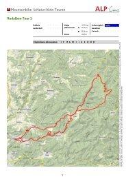 Tour 1 - Zentrum Pfälzerwald