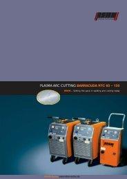 PLASMA ARC CUTTING BARRACUDA RTC 60 – 150 - Rehm