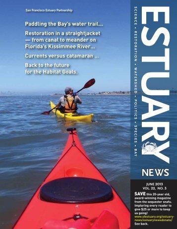 Estuary News, June 2013 PDF - San Francisco Estuary Partnership