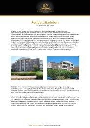Residenz Barleben - Finanzplanmanufaktur