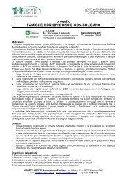 progetto FAMIGLIE CON-DIVIDONO E CON-SOLIDANO x sito