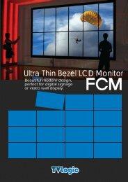 Ultra Thin Bezel LCD Monitor - Postium