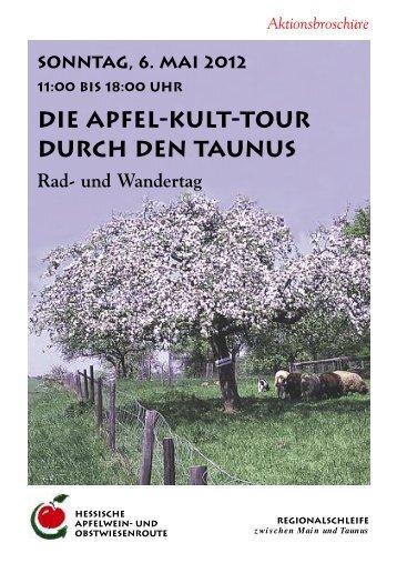 Die Apfel-Kult-Tour durch den Taunus - HESSISCHEN APFELWEIN
