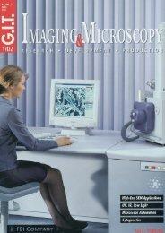 Microscience 2002 – The latest Microscopy & Imaging ... - GIT Verlag