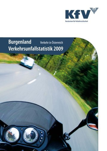 Burgenland Verkehrsunfallstatistik 2009