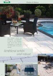 Exklusive Terrassenplatten