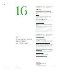 16. - Ny Carlsbergfondet