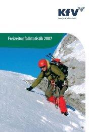 Freizeitunfallstatistik 2007