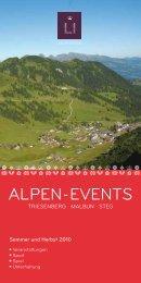 Alpen-events - Bergbahnen Malbun AG