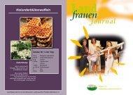 Holunderblütenwaffeln - Brandenburger Landfrauenverband eV