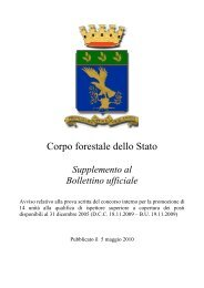 Supplemento al Bollettino ufficiale