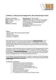 110118_Protokoll_Muenchen - Holz verantwortungsvoll nutzen