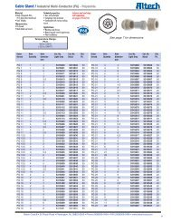 Altech Corporation Part Number 5507560