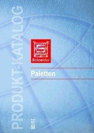 Paletten - Schneider Leichtbau