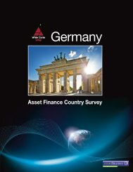 Asset Finance Country Survey - White Clarke Group
