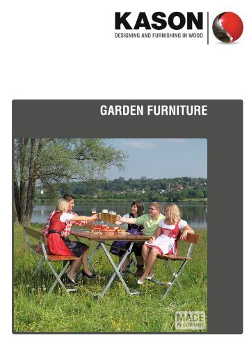 KASON Garden Furniture 2012 (PDF, ca. 600 KB)