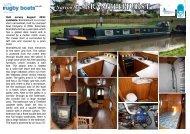 Narrowboat BRAMblEhURSt - Rugby Boat Sales